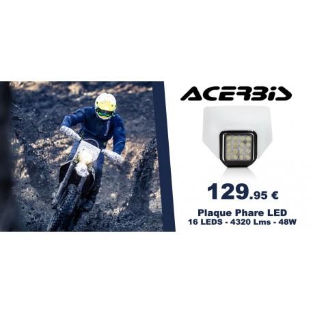UFO Prot/ège Disque Avant Blanc Husqvarna 125 250 350 450 TC//FC 2014 FE//Te 14-16