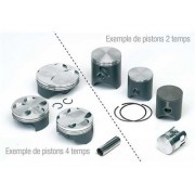 Piston Vertex mono-segment pour 125 Husaberg/Husqvarna 2 Temps (Diamètre 53,97)