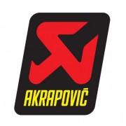AUTOCOLLANT AKRAPOVIC 75 X 95 MM