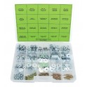 Kit visserie, écrous, rondelles et goupilles - 422 pièces