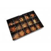 Coffret de rondelles en cuivre CENTAURO - 400 pièces